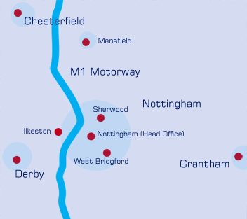 Willbond East Midland branches