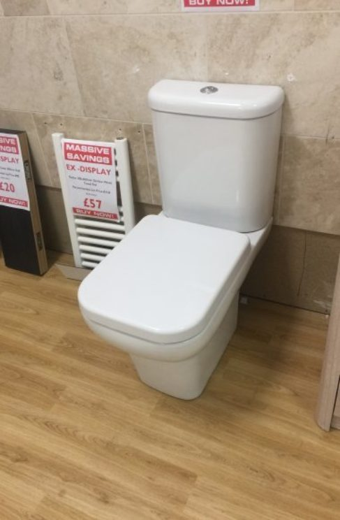 Urban WC ex-display Chesterfield
