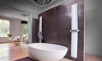 You can see the Bisque Svelte towel radiator on display at all Willbond showrooms