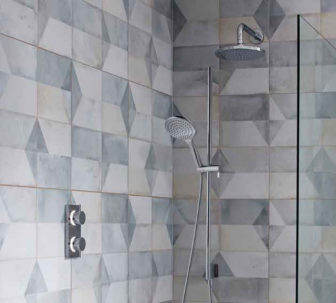 Crosswater Kai Digital Shower on display at our Derby Bathroom Centre