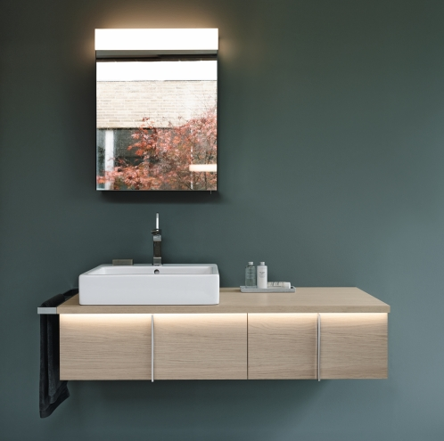 Duravit Vero illuminated basin unit