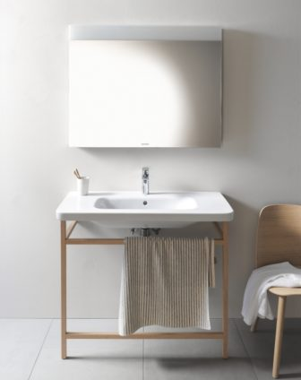 Duravit DuraStyle basin & washstand on display at our Grantham Bathroom Centre