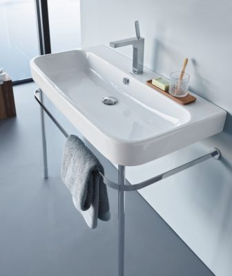 Duravit Happy D2 basin & washstand on display at our Nottingham, Grantham & Chesterfield showrooms