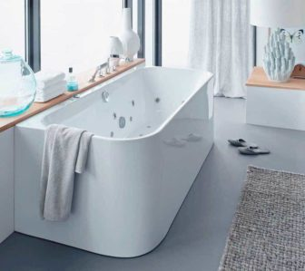 Duravit Happy D2 Whirltub on display at our Nottingham showroom
