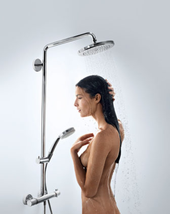 Hansgrohe Croma® showers are on show at all of our Bathroom Centres
