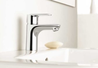 Hansgrohe Talis® E2 basin mixer on display at out Nottingham and Chesterfield Bathroom Centres