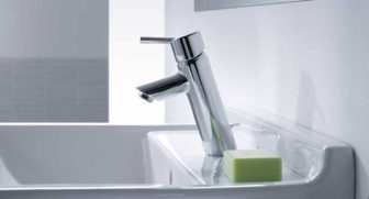 Hansgrohe Talis® basin mixer on display at our Chesterfield and Nottingham Bathroom Centre showrooms