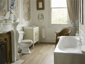 Heritage Dorchester bathroom suites on display at Grantham, Derby & Chesterfield
