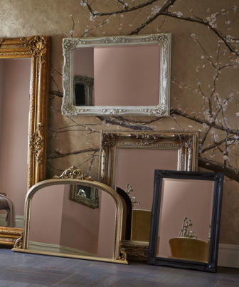 Heritage Mirrors on display at Grantham & Derby