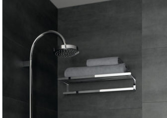 Keuco's Universal towel rack is on display at all of our showrooms