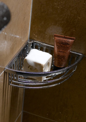 Keuco Chrome Wire sponge & soap basket on display at all our Bathroom Centres
