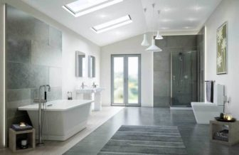 Kohler Rêve (Nottingham & Chesterfield) with Torsion shower enclosure on display at all of our Bathroom Centres