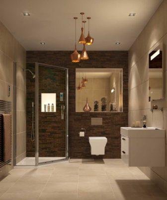 Kohler Rêve on show at Nottingham & Chesterfield with Torsion shower enclosure - see Torsion at all our showrooms