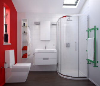 Kohler Torsion (all showrooms) and Rêve bathroom products on display at our Chesterfield & Nottingham Bathroom Centres