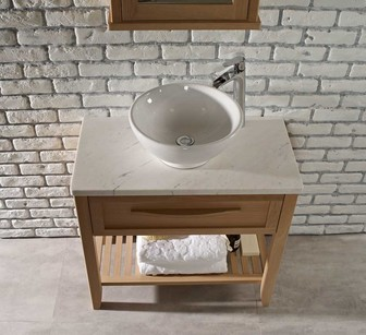 Laura Ashley Artisan washstand with marble worktop