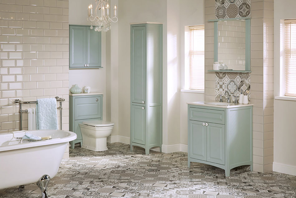 Utopia Downton bathroom furniture