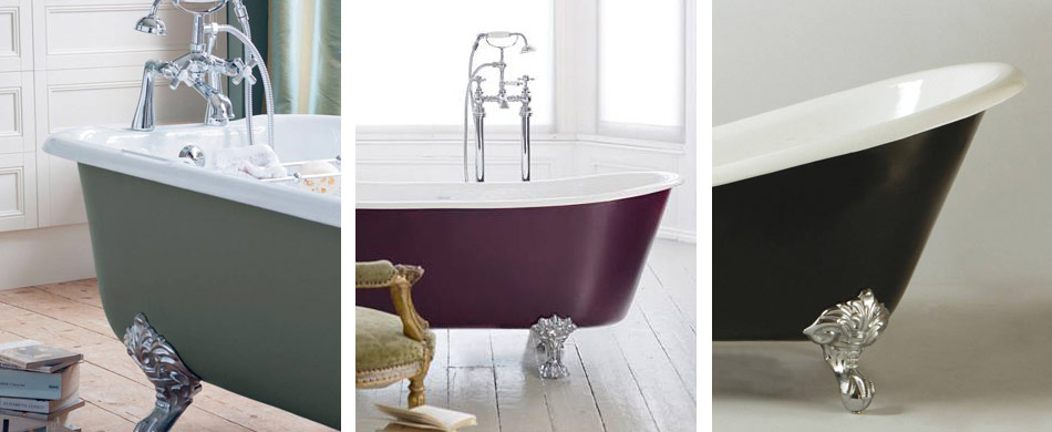 Heritage cast iron freestanding baths