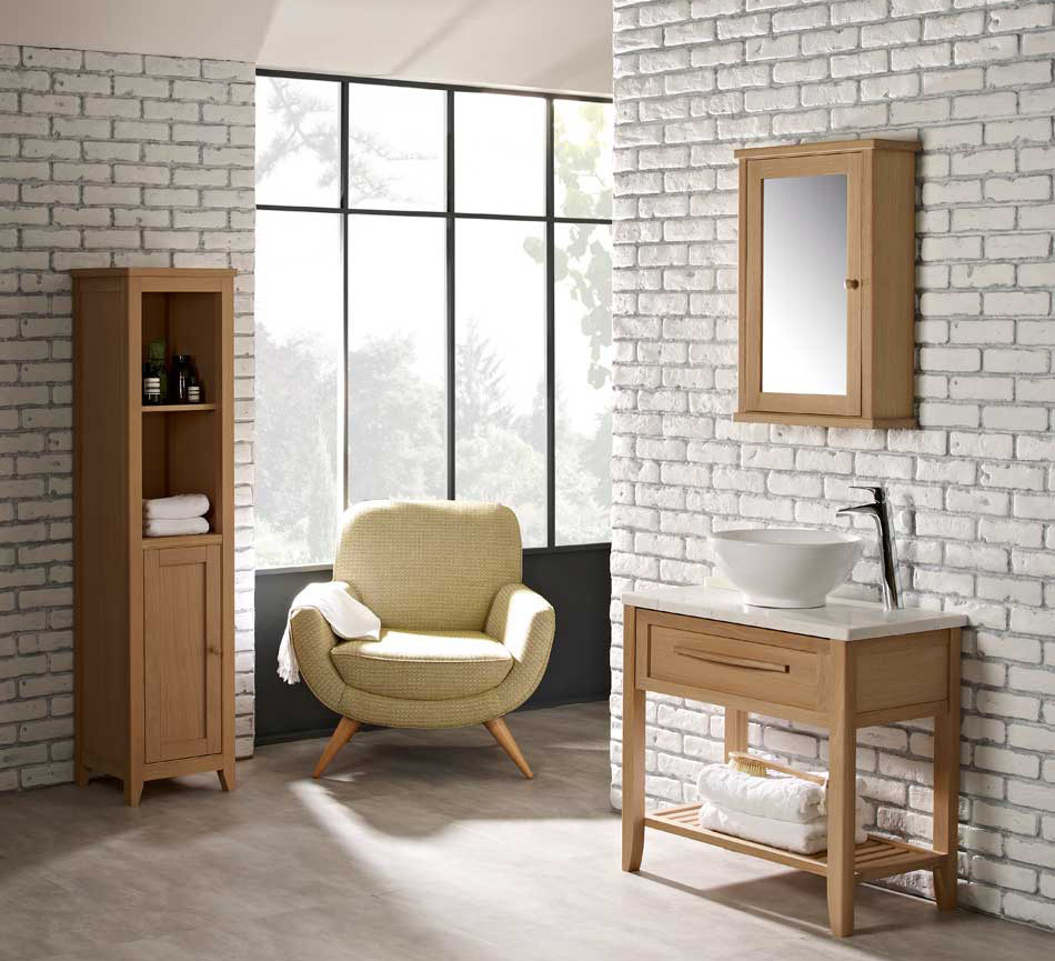 Scandinavian bathroom style