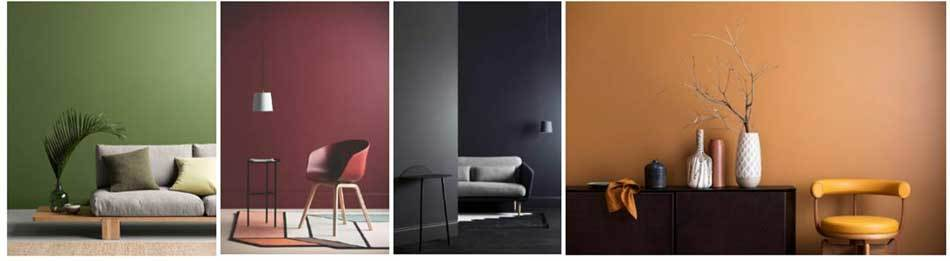 Home interior colour trends