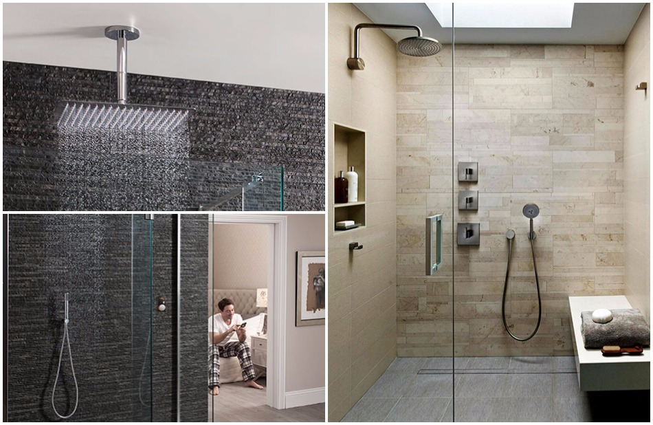 Super luxurious showers