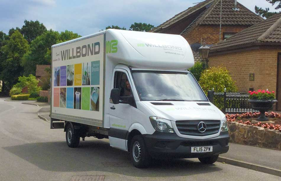 Willbond bathroom delivery fleet