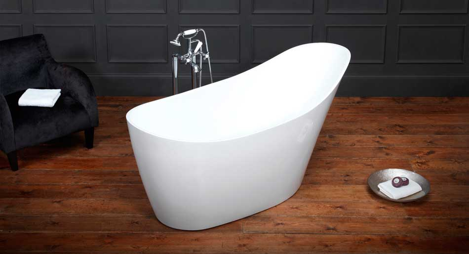 Waters Wave quality freestanding bath