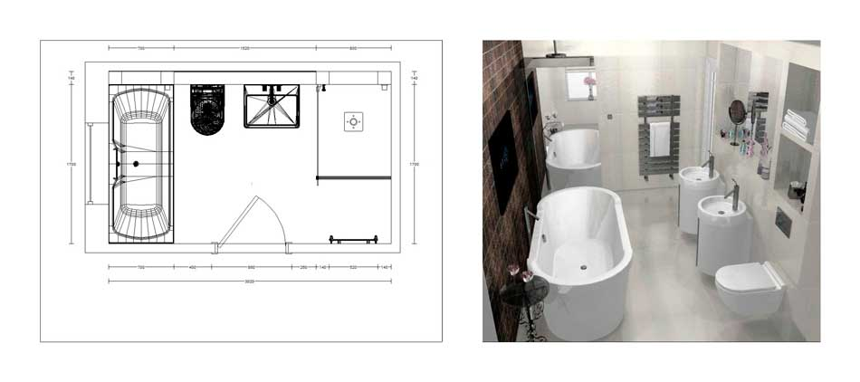 Professional bathroom planning and design