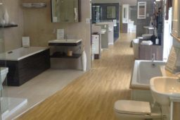 Fitted and freestanding baths, showers, wetrooms on display in Chesterfield, Derbyshire